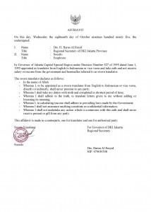 Sworn Translation Service in Bogor, Translation Service